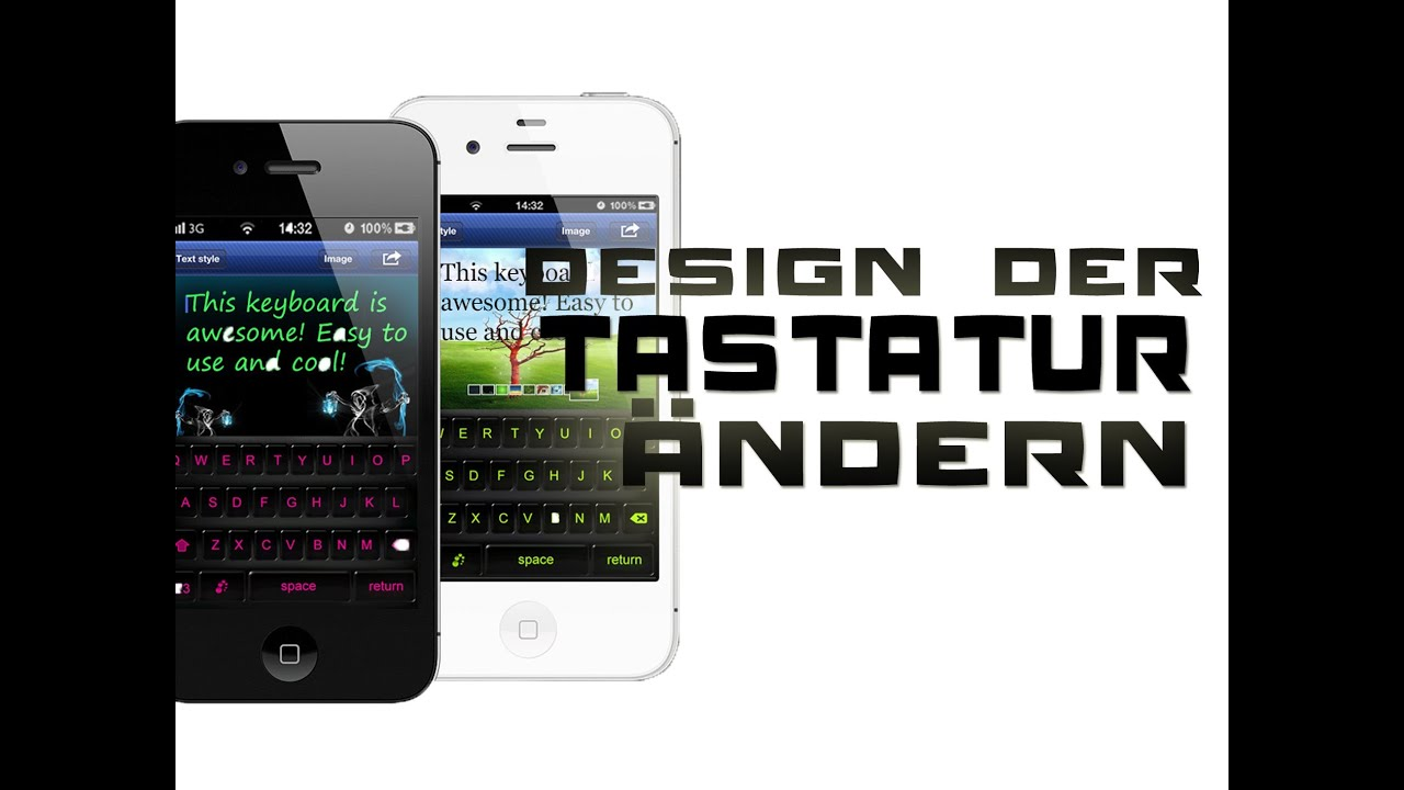 tutorial aussehen farbe design der tastatur f r ipod iphone ipad ndern kostenfrei youtube. Black Bedroom Furniture Sets. Home Design Ideas