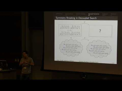 ICAPS 2017: Symmetry Breaking in Star-Topology Decoupled Search