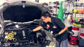 Clean And Detail An Engine Without Water - Chemical Guys EcoSmart