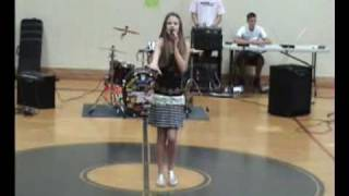 "Me Singing ""Breaking Free"" at School Talent Show"