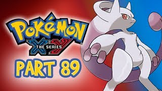 Pokemon X and Y Gameplay Walkthrough Part 89 - Catching Mewtwo (Nintendo 3DS Let