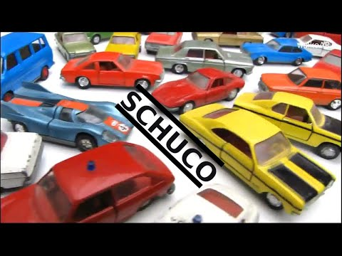 Schuco - Nürnberg alte Modellautos Metall 1:66   / Old model cars from Germany