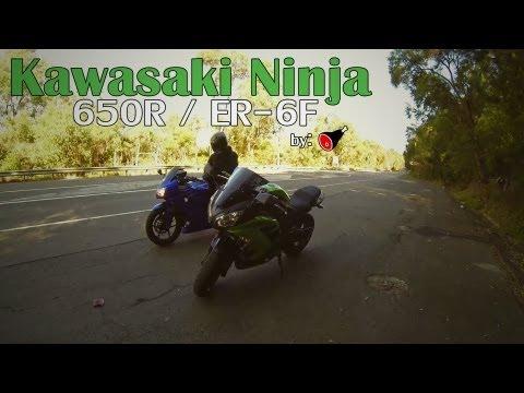 Kawasaki Ninja 650R / ER-6f 2013 Review