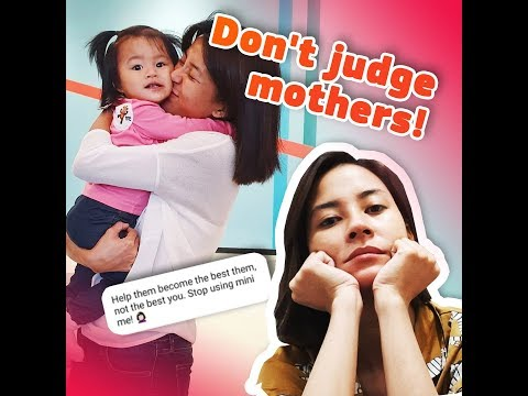 Don't judge mothers! - KAMI - Mother of two Bianca Gonzalez scolds a netizen - 동영상