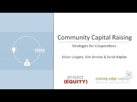 Creative Sources of Capital for your Cooperative