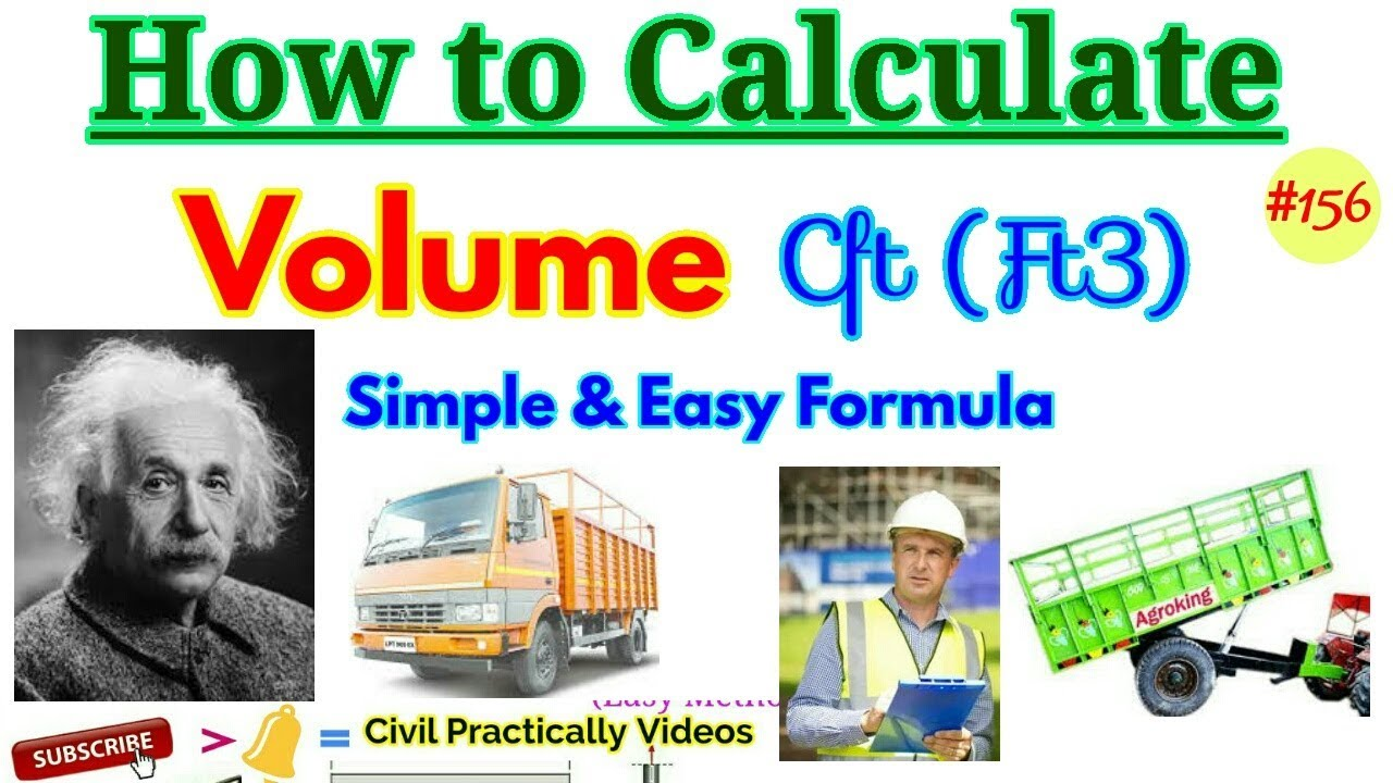 Formula Of Calculation Cubic Feet How To Calculate Volume In Easy Hindi Ur