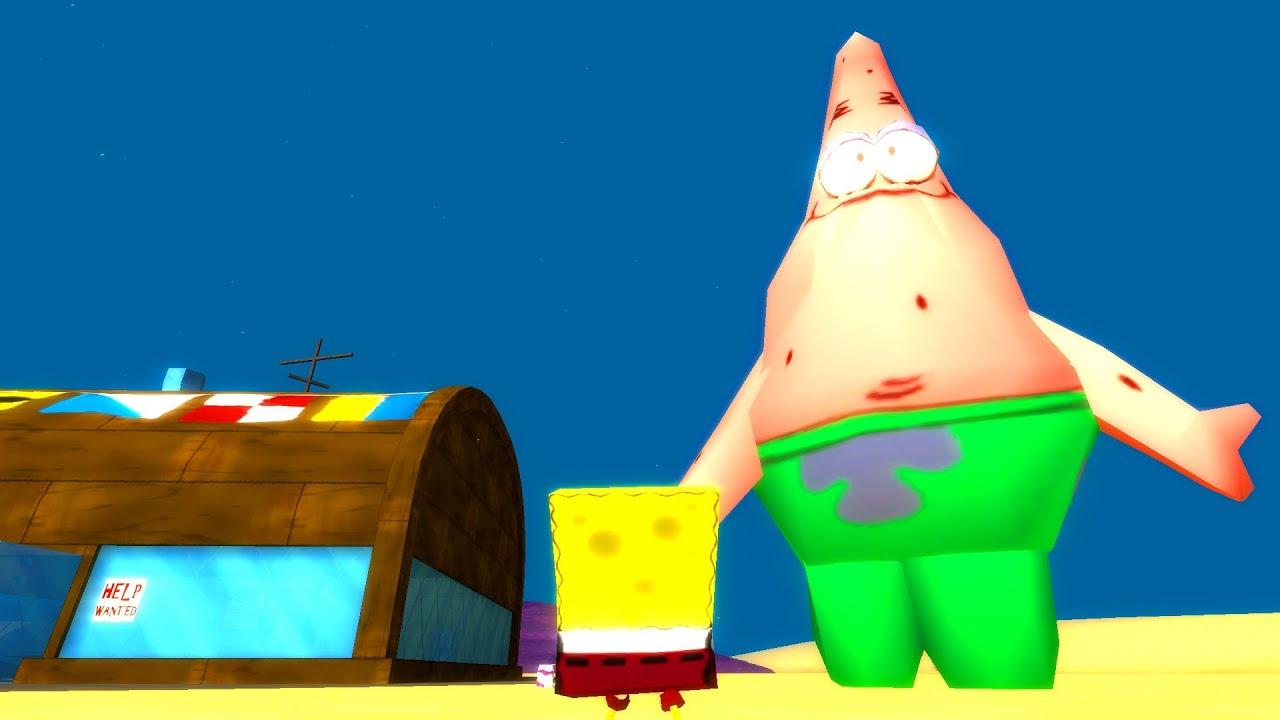 spongebob squarepants patrick got fat youtube