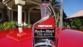 Mothers Tire Shine Back to Black 24oz (Pengkilap Ban)