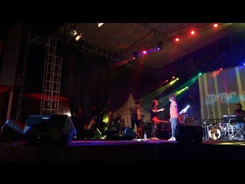 Detik detik Rian dan Rai D'Masiv nyaris adu Jotos pada Konser Surya Nation Motor Land 2019 di Lombok