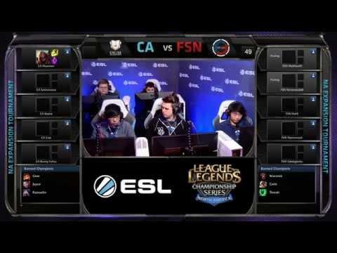 NA LCS Expansion 2015: FSN vs CA G3 | Fusion vs Curse Academy G3 (13.12.2014)