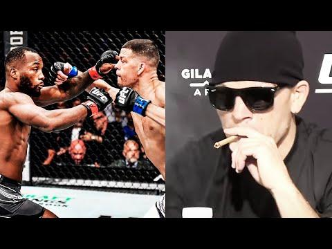 В реальном бою я бы победил / Пресс конференция Нейт Диаз - Леон Эдвардс после боя