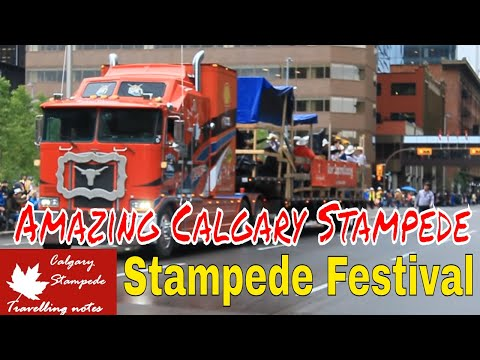 Amazing Calgary Stampede 5 July 2019  @1