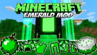 EMERALD MOD - ¡Dimensión, armas, armaduras y comida de esmeralda! [Forge][1.7.10]