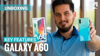Samsung Galaxy A60 unboxing and key features