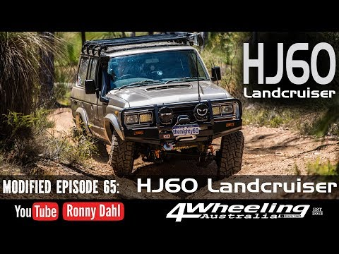 Toyota Land Cruiser HJ60, Modified