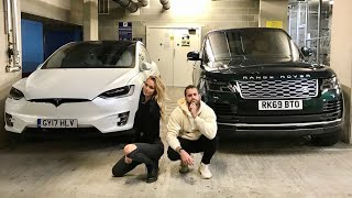 TESLA vs RANGE ROVER - MY NEW SUV!