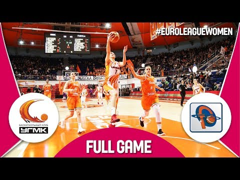UMMC Ekaterinburg (RUS) v Famila Schio (ITA) - Full Game - EuroLeague Women 2017-18