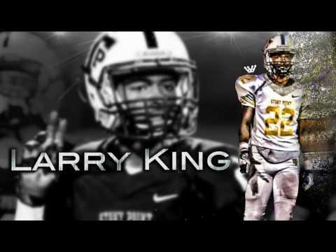 Larry King Football Highlights   Stony Point High School (TX)