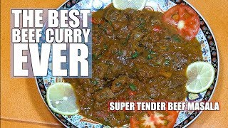 Beef Curry - Super Tender Beef Curry - Best Beef Curry - Restaurant Style Beef Curry - Beef Masala