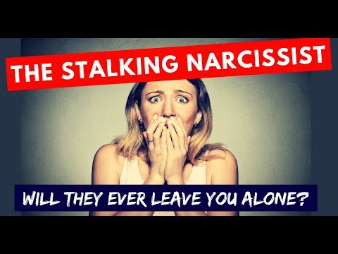 will a narcissist ever let you go
