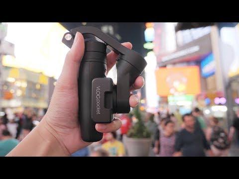 Best Vlogging Gimbal of 2019?! Feiyu Tech Vlog Pocket Review