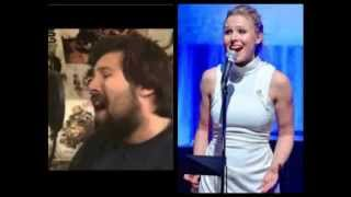"""""""For the First Time in Forever"""" (OST) Mashup w/ Lyrics-Kristen Bell,Idina Menzel,Caleb Hyles-FROZEN"""