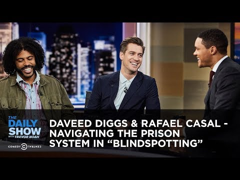 """Daveed Diggs & Rafael Casal - Navigating the Prison System in """"Blindspotting"""" 