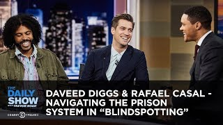 "Daveed Diggs & Rafael Casal - Navigating the Prison System in ""Blindspotting"" 