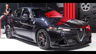 Alfa Giulia Quadrifoglio Verde BLACK CARBON EDITION - TEST 0 - 300 FINAL