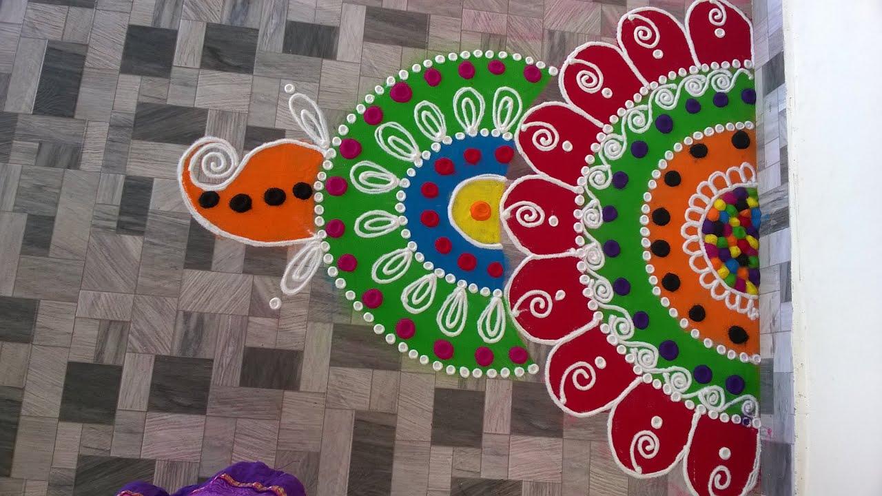 easy sanskar rangoli designs for diwali industriinfo