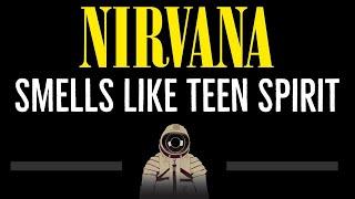 Nirvana • Smells Like Teen Spirit (CC) (Remastered Video) 🎤 [Karaoke] [Instrumental Lyrics]