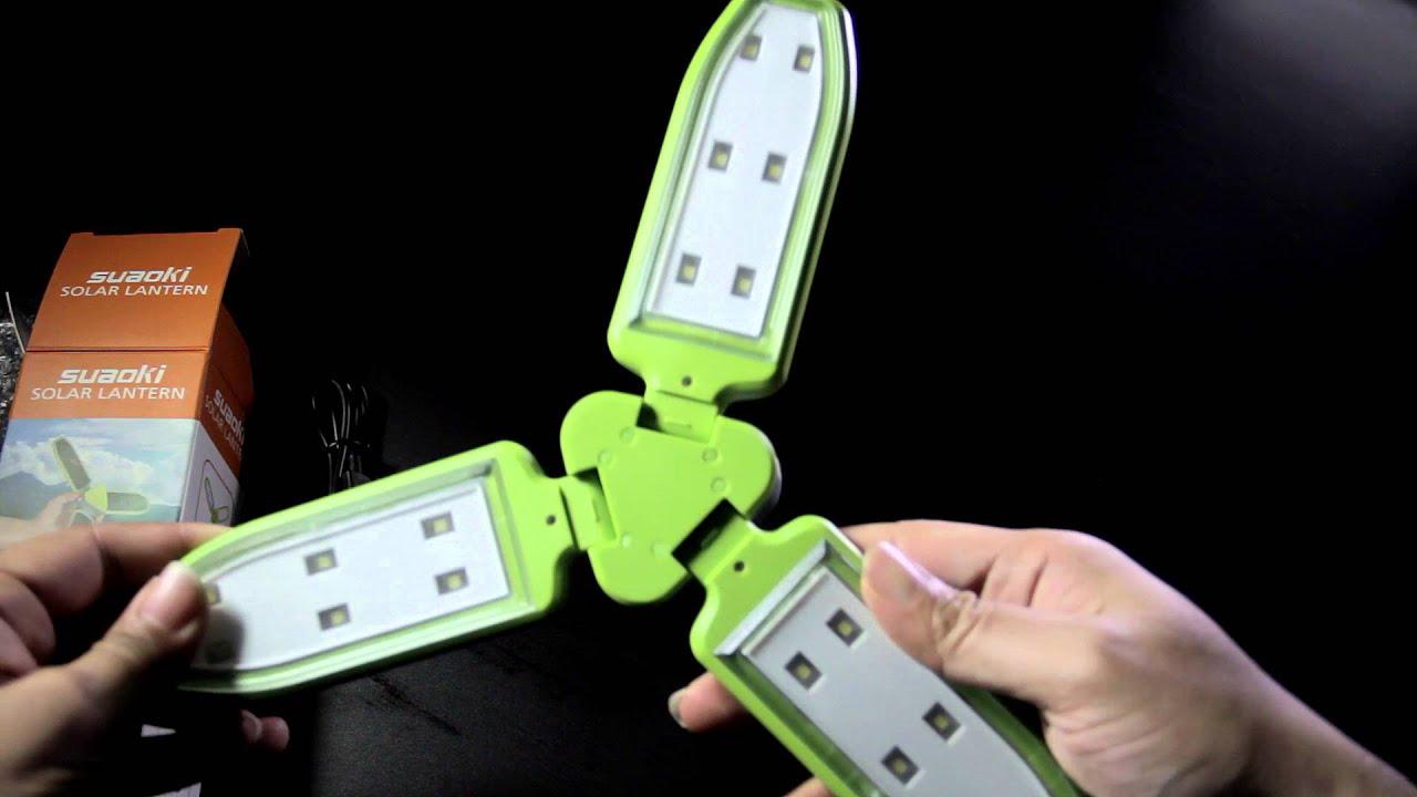 Suaoki Solar Lantern Portable Led Light Usb Solar