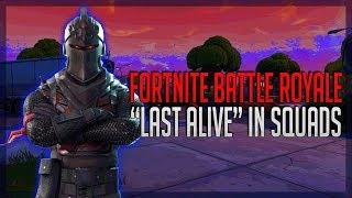 """Fortnite Battle Royale Squads Win """"Last Alive"""" W/Overlap, Se7en & Kai. Epic Victory Clutch!!"""