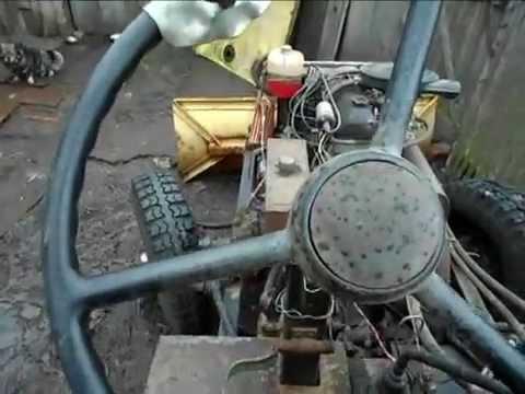 -переделка рулевого управления -МТЗ-82 - YouTube