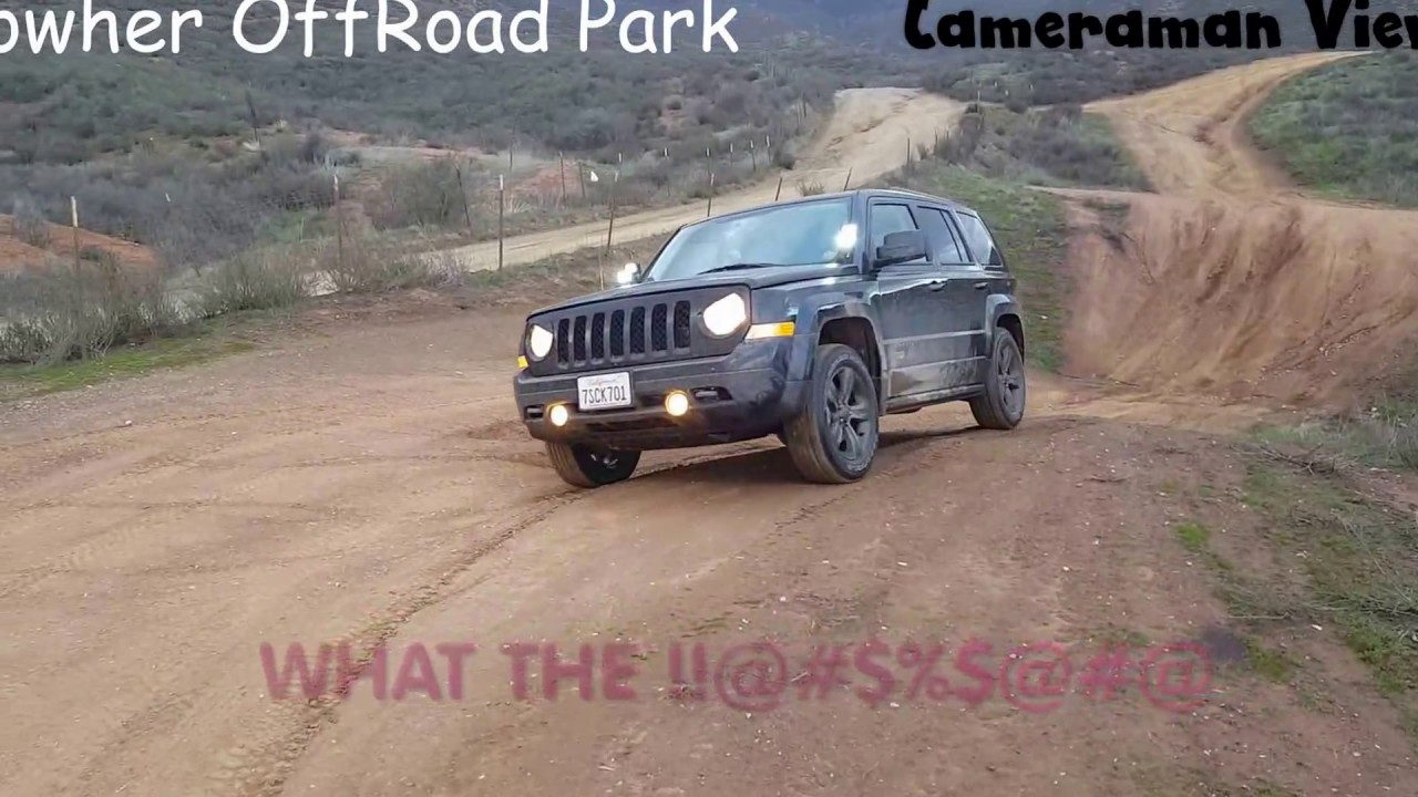 2016 jeep patriot rowher off road park youtube. Black Bedroom Furniture Sets. Home Design Ideas
