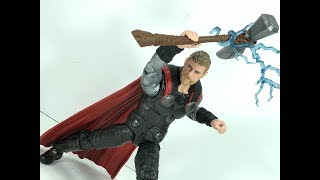 Marvel Legends Avengers Infinity War Thor Chefatron Toy Review
