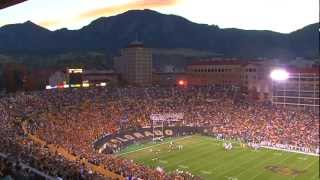 CU-Boulder: Glory, Glory Colorado