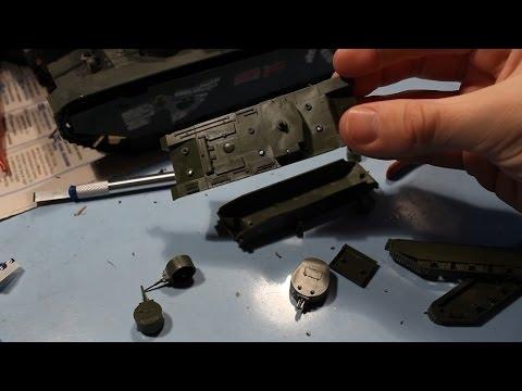 видео: Сборка модели танка Т-35 1/100 zvezda