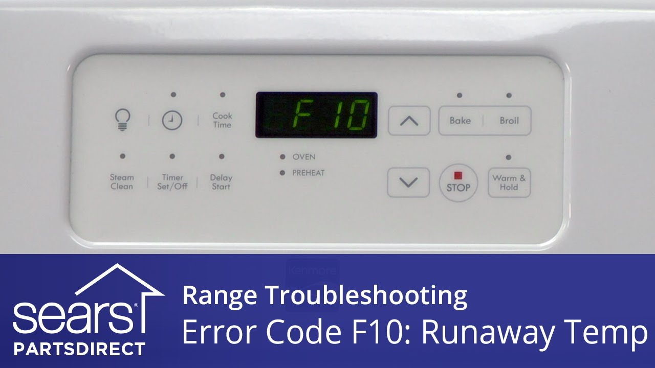 Frigidaire Self Cleaning Oven Troubleshooting