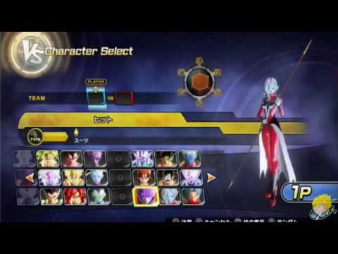 Dragon Ball XENOVERSE 2   Character Select Roster Exclude DLC【60FPS 1080P】
