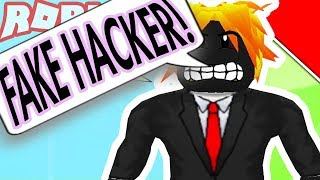 EXPOSING THE FAKEST HACKER IN ROBLOX!