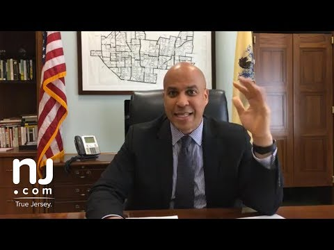 Sen. Cory Booker says marijuana should be legal in America