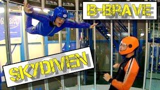 #2: Indoor Skydiven met B-Brave