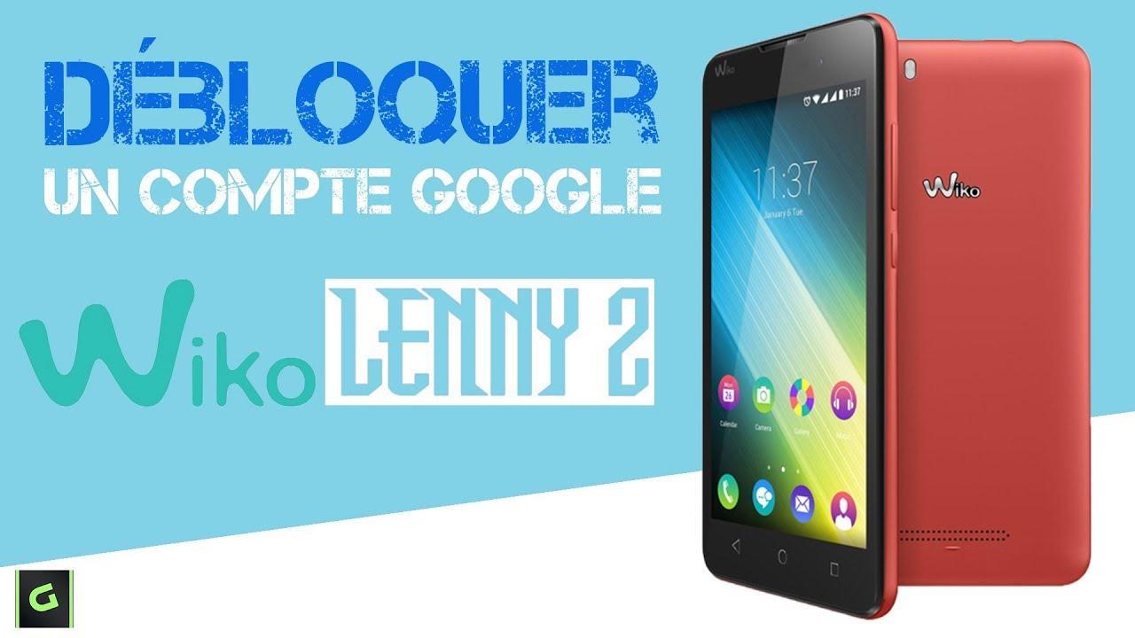 Débloquer un compte Google Wiko Lenny 2 Sans PC Sans OtG - YouTube cab9a71d45d4