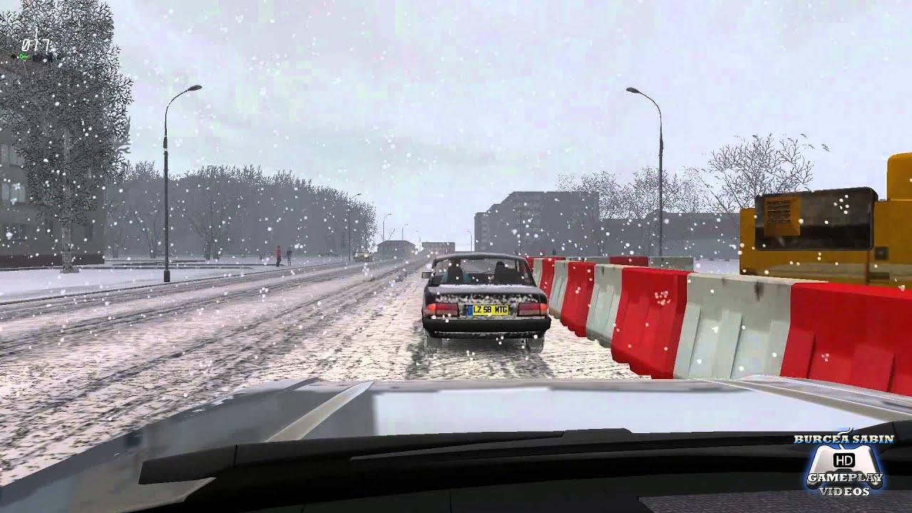 City Car Driving    Winter Mod