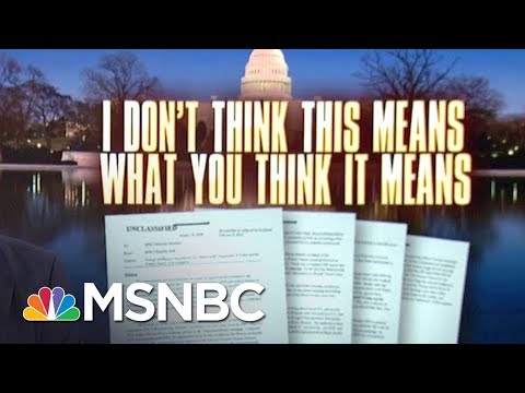 For All The Hype, Nunes Memo Delivers Sad Trombone For Donald Trump | Rachel Maddow | MSNBC