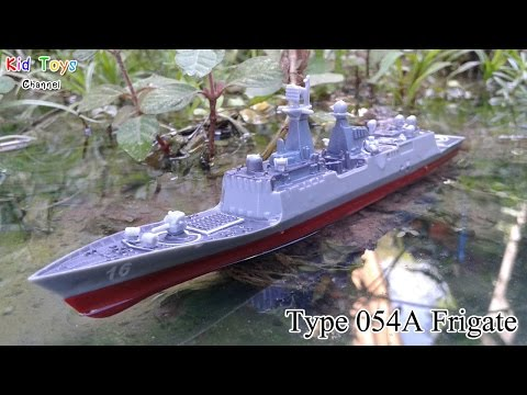 Type 054A Frigate Military Ship 1:900 scale & Army Men