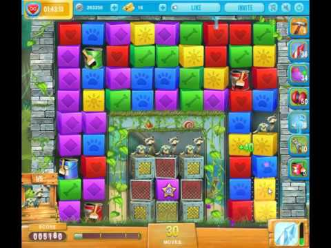 Pet rescue saga pet island level 6 no boosters 4th of n for Pet island level 4
