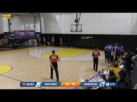 Profit Basket - Глория-Реутов. Элита. Тур 18. Сезон 2019/20