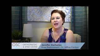 Jennifer Zacharias' Patient Success Story - Dr. Jeffrey Carlson
